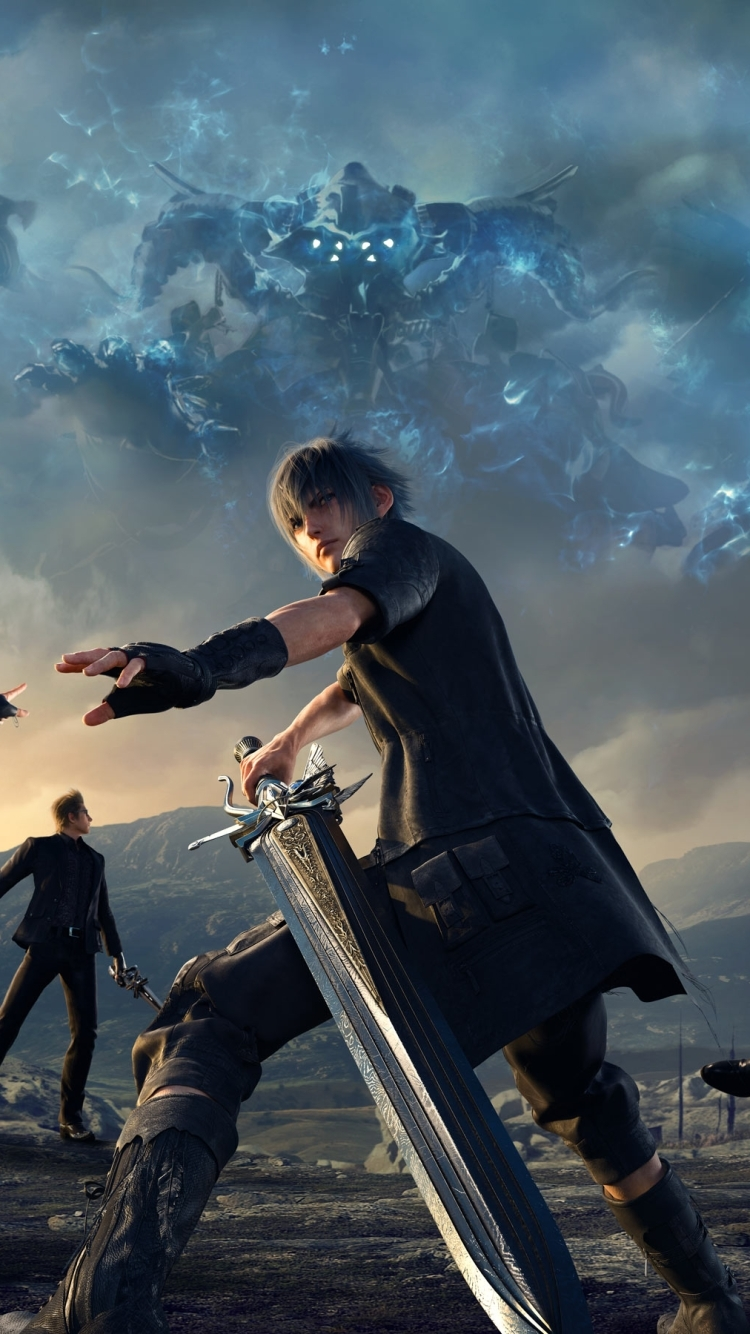 video game/final fantasy xv (750x1334) wallpaper id: 654634