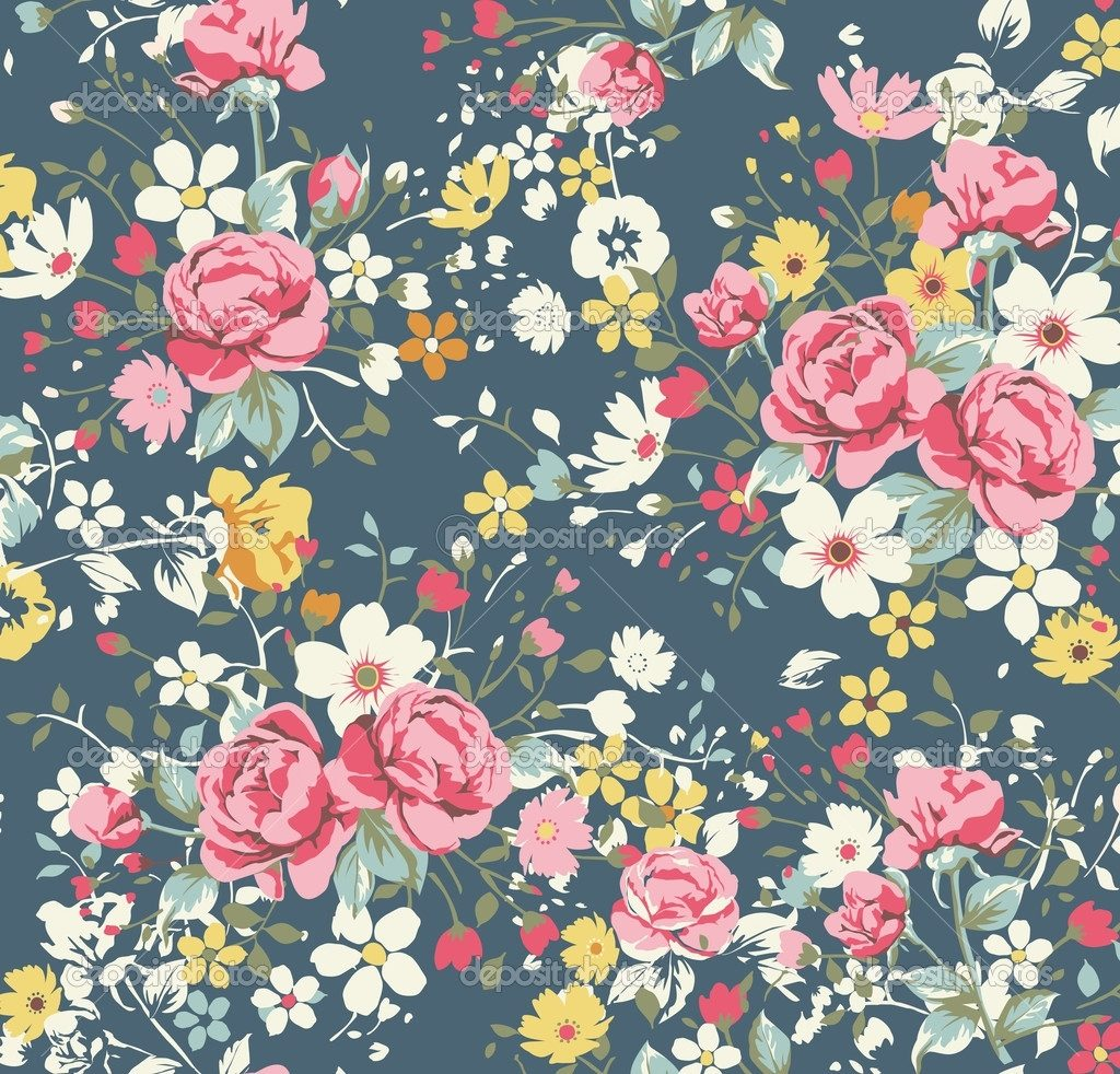 10 Most Popular Vintage Floral Pattern Desktop Wallpaper FULL HD 1920×1080 For PC Background 2018 free download vintage flower wallpaper pattern superb flower print wallpaper 116 1024x982