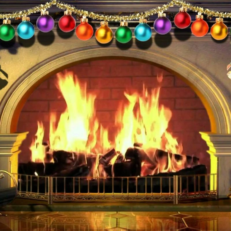 10 New Christmas Fireplace Background Images FULL HD 1920×1080 For PC Desktop 2018 free download virtual christmas fireplace free background video 1080p hd 15 800x800