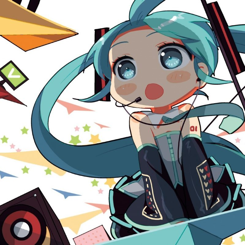 10 Latest Hatsune Miku Chibi Wallpaper FULL HD 1920×1080 For PC Desktop 2020 free download vocaloid stars hatsune miku chibi paper plane wallpapers 800x800