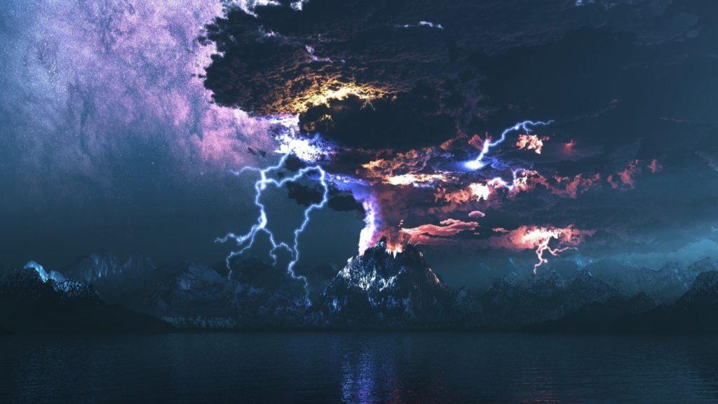 10 Top Lightning Storm Wallpaper Hd FULL HD 1080p For PC Desktop 2018 free download volcano storm lightning hd wallpaper fullhdwpp full hd 1024x576