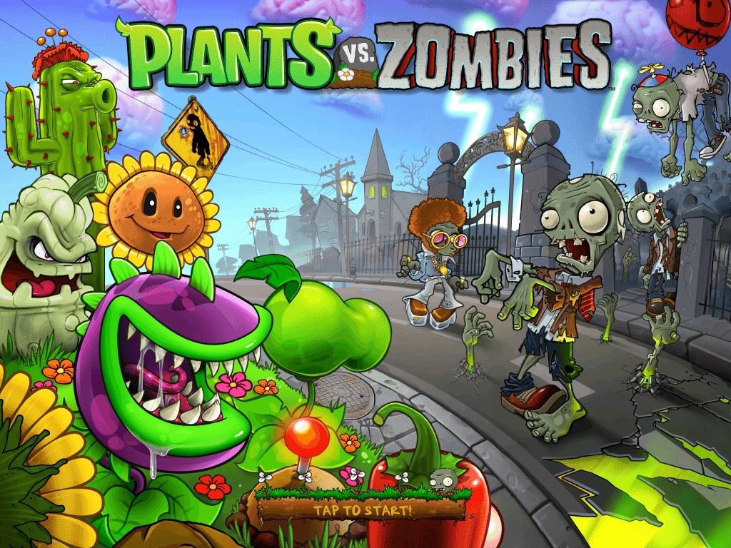 10 New Plant Vs Zombies Wallpaper FULL HD 1920×1080 For PC Background