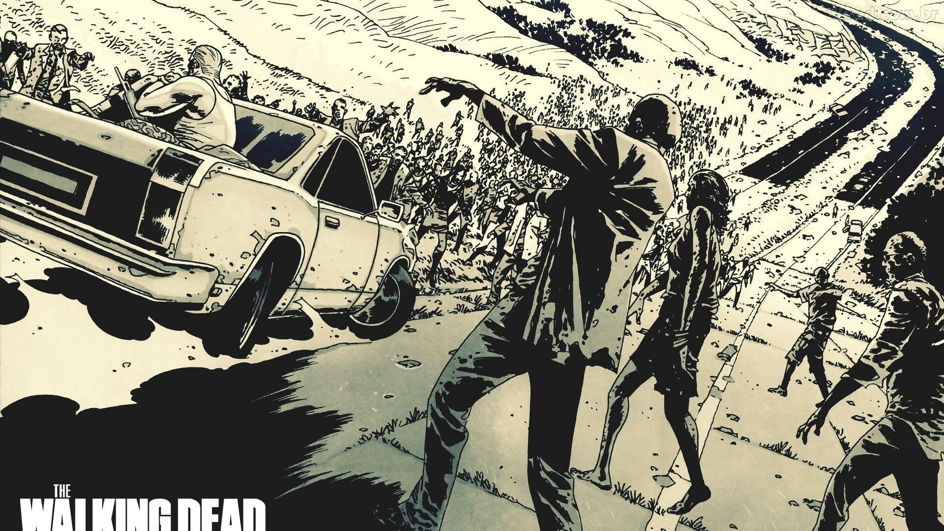 10 Top The Walking Dead Comics Wallpaper FULL HD 1920×1080 For PC Desktop