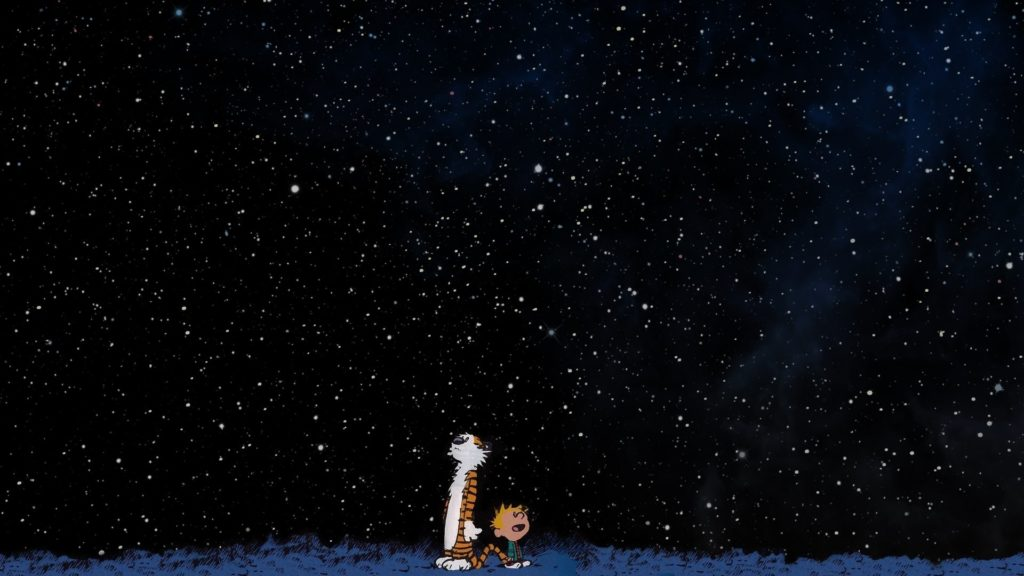 10 Best Calvin And Hobbes Background FULL HD 1080p For PC Background 2018 free download wallpaper 1920x1080 px calvin and hobbes space stars 1024x576