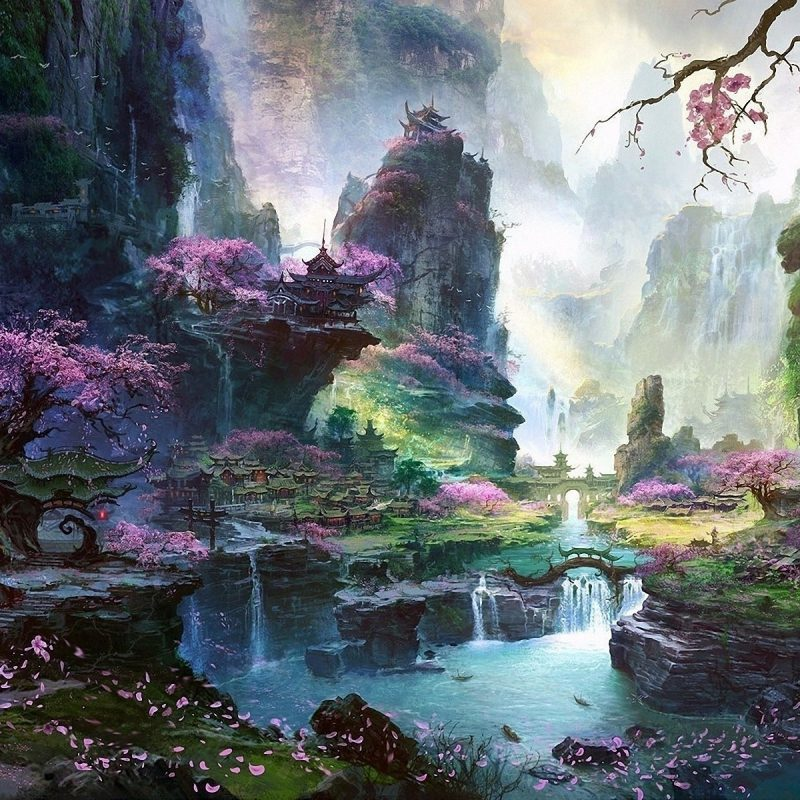 10 New Fantasy Nature Desktop Wallpaper FULL HD 1080p For PC Desktop 2018 free download wallpaper 1920x1200 px asian architecture cherry blossom 800x800