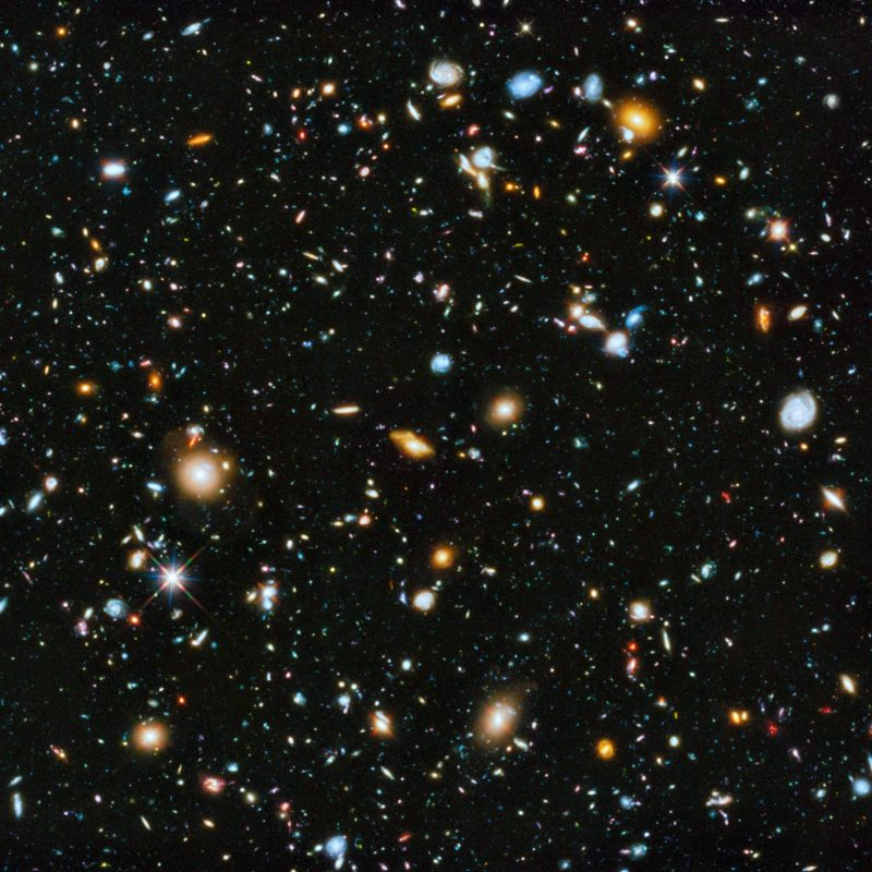 10 Most Popular Hubble Deep Field Image Wallpaper FULL HD 1080p For PC Background 2018 free download wallpaper 2300x2100 px deep space galaxy hubble deep field 2 800x800