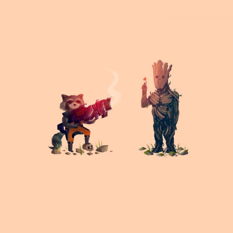 10 Most Popular Rocket And Groot Wallpaper FULL HD 1080p For PC Desktop 2018 free download wallpaper 3440x1440 px groot guardians of the galaxy rocket 800x800