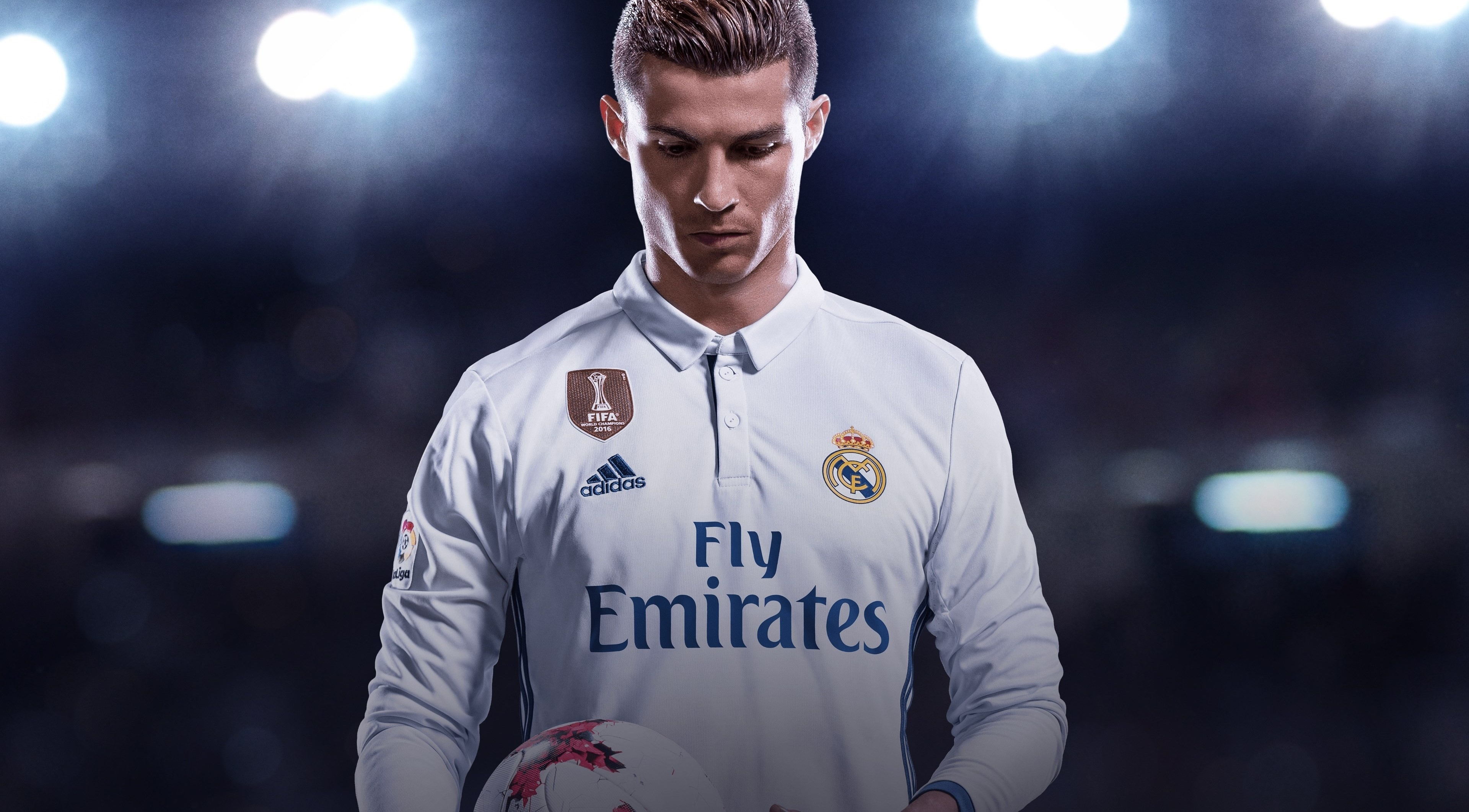 wallpaper cristiano ronaldo, fifa 18, 4k, games, #7777