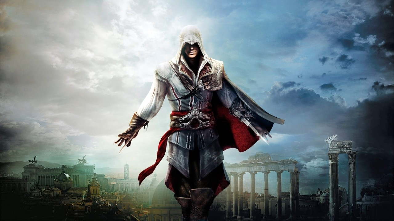 wallpaper ezio, assassin's creed, the ezio collection, ps4, xbox one