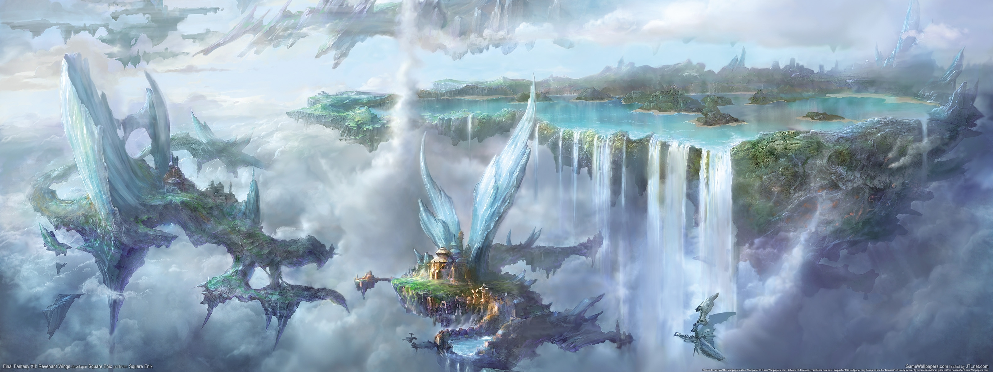 wallpaper final fantasy 12 revenant wings 02 3200x1200 - 10 000