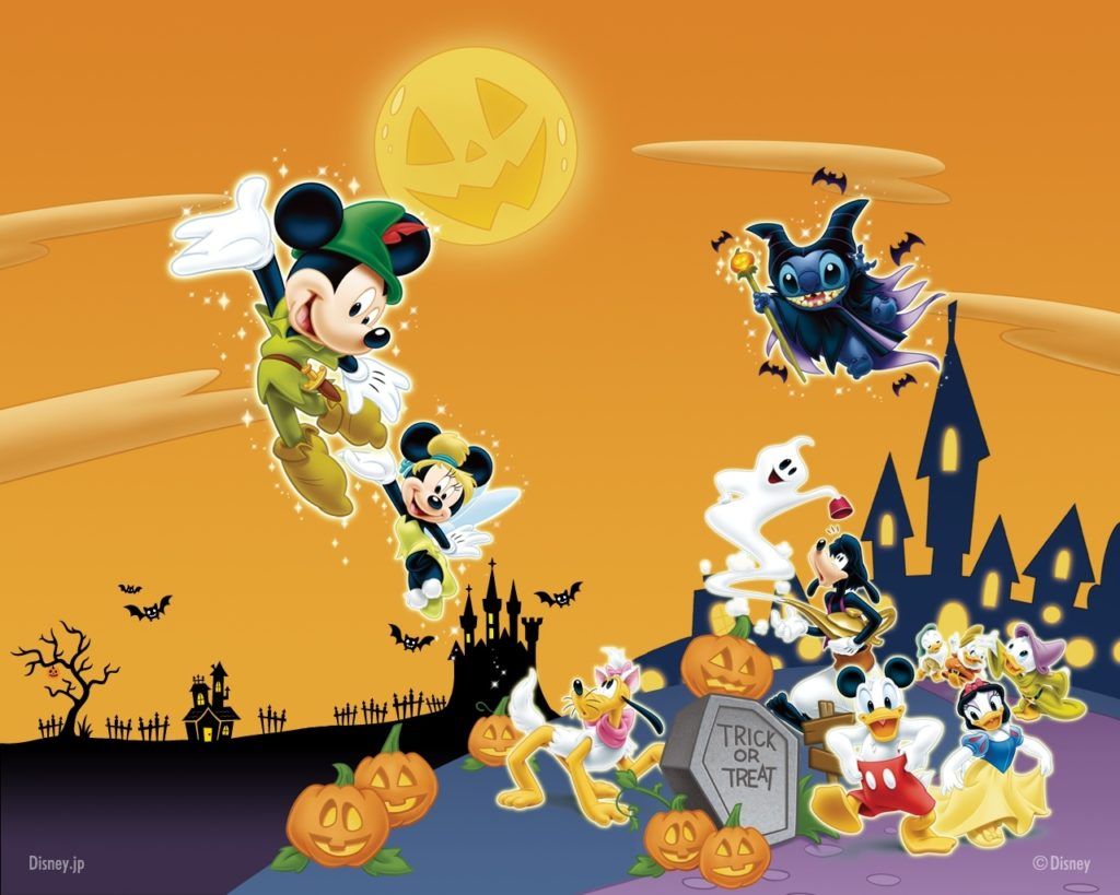 10 Best Disney Halloween Wallpaper Backgrounds FULL HD 1920×1080 For PC Background 2018 free download wallpaper for holiday 1024x819