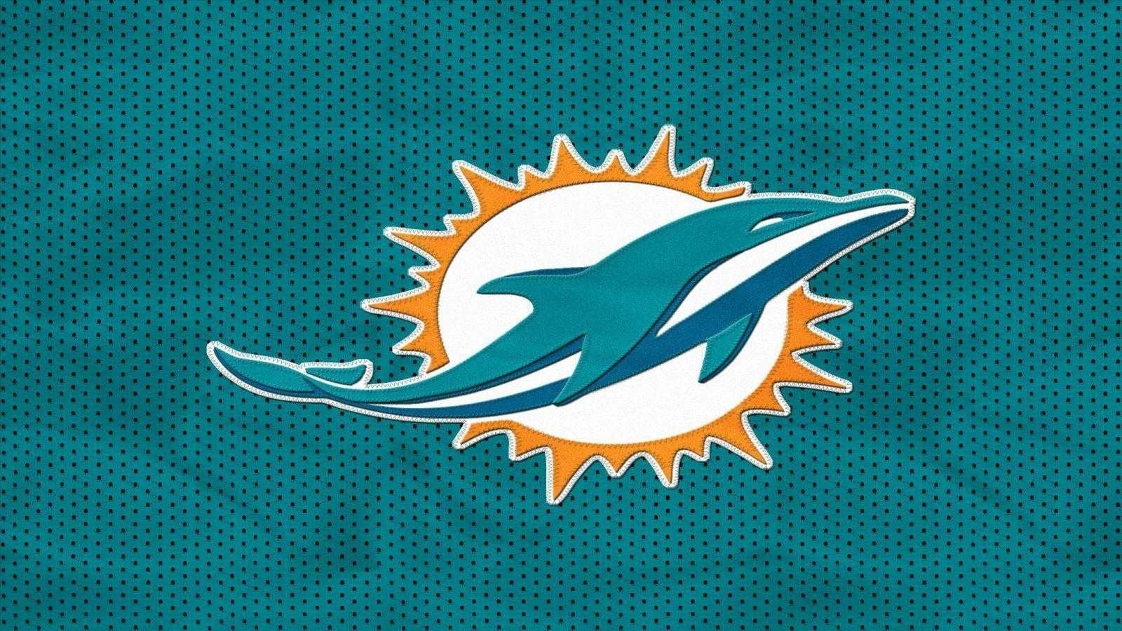 wallpaper for miami dolphin dolphins hd pc | wallvie