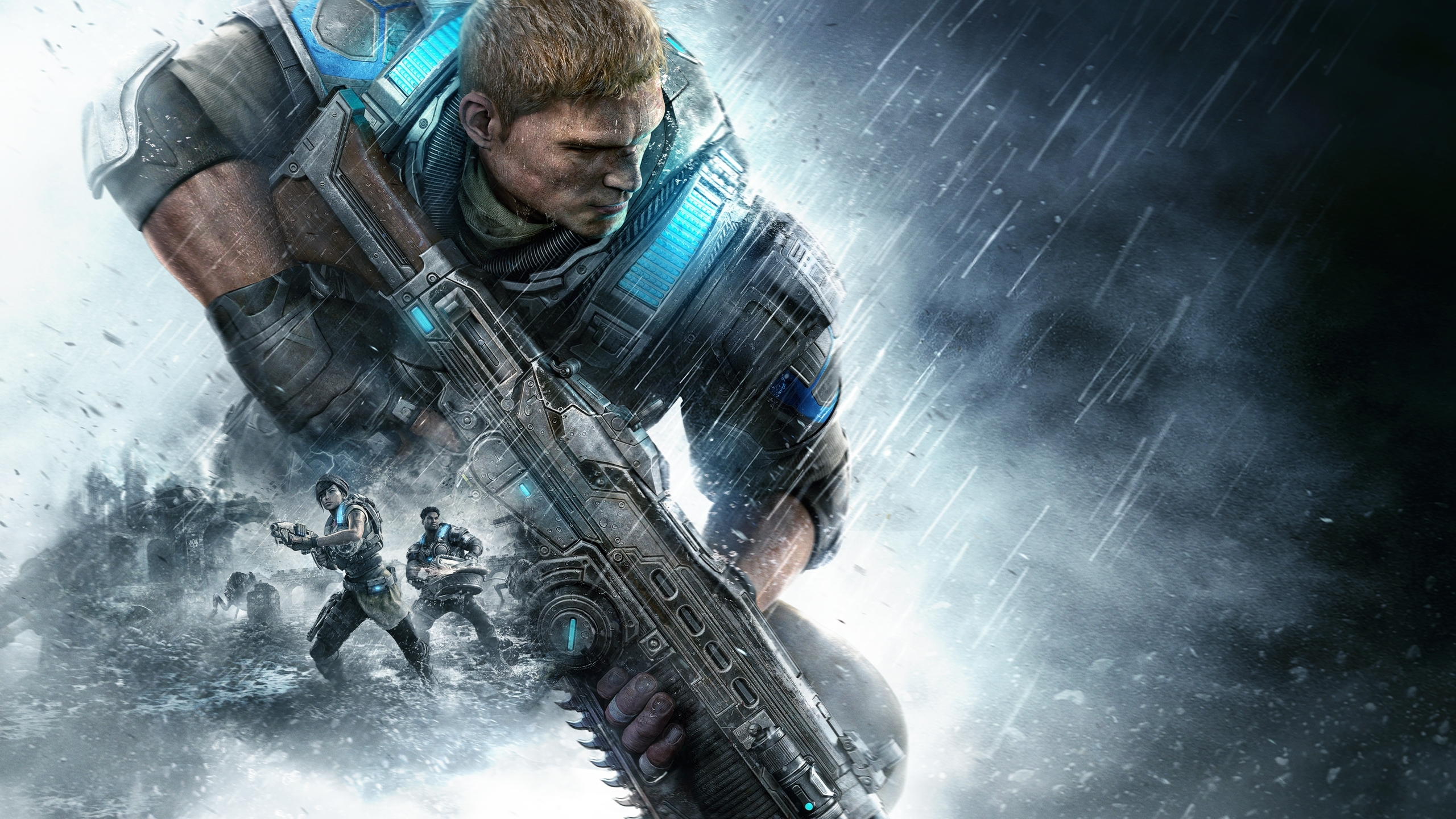 wallpaper gears of war 4, xbox one, hd, games, #1671