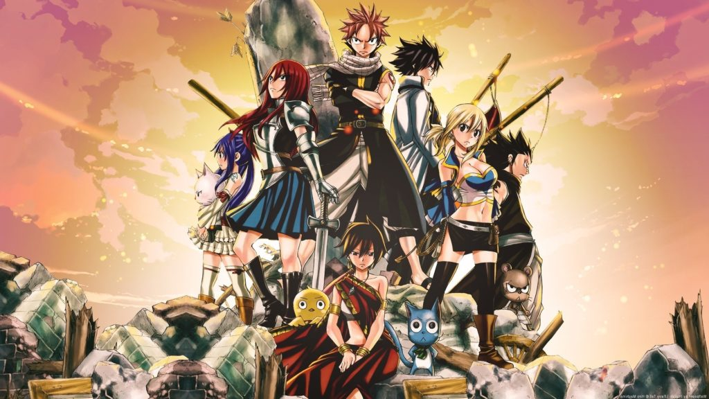 10 Best Fairy Tail Wallpaper 1920X1080 FULL HD 1080p For PC Desktop 2021 free download wallpaper illustration anime fairy tail scarlet erza 1024x576