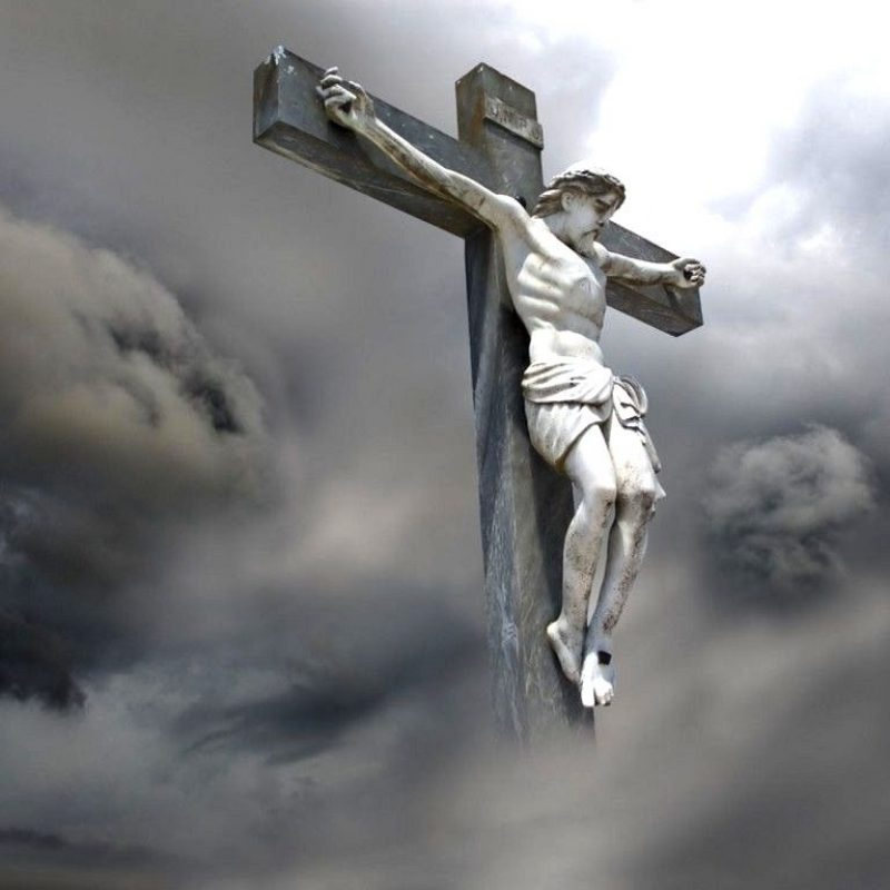 10 Most Popular The Cross Of Christ Wallpaper FULL HD 1080p For PC Desktop 2018 free download wallpaper image of a sculpture of jesus christ on the cross amongst 800x800