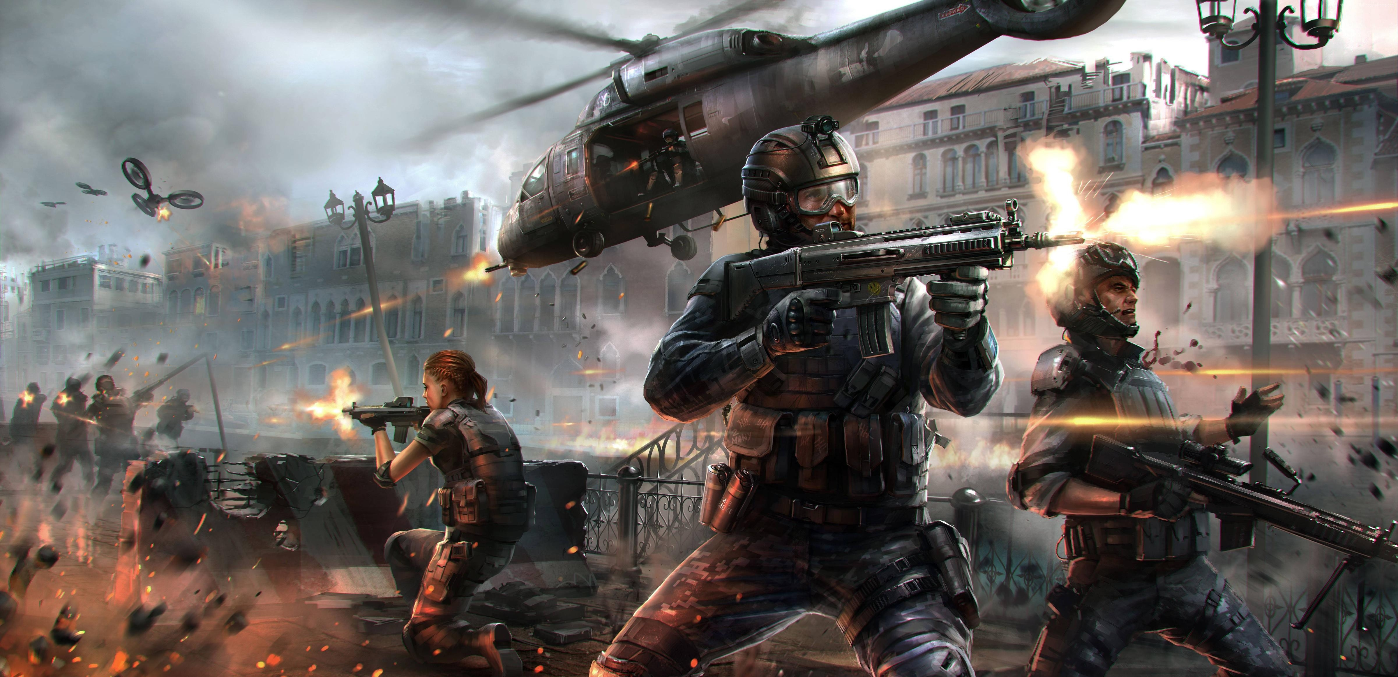 wallpaper modern combat 5: blackout, game, mmo, shooter, mmofps