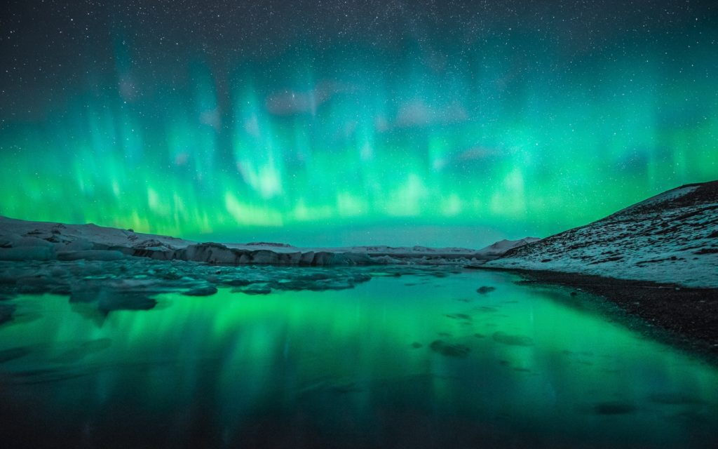 10 Best Aurora Lights Wallpaper Hd FULL HD 1080p For PC Desktop 2018 free download wallpaper northern lights wallpaper wallpaper winter snow 1024x640