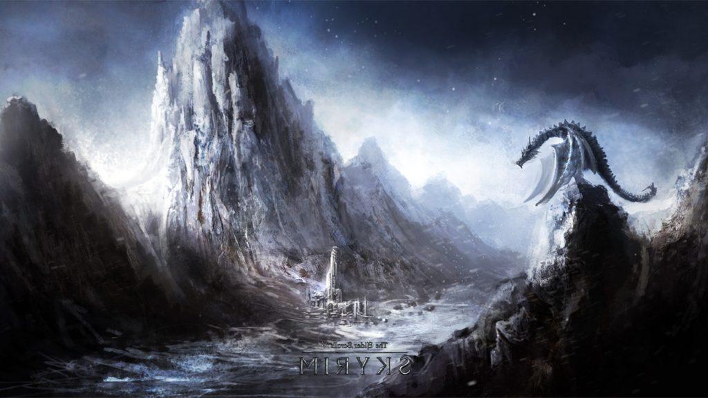 10 New Skyrim Dragon Wallpaper 1920X1080 FULL HD 1920×1080 For PC Background 2018 free download wallpaper video games fantasy art dragon the elder scrolls v 1024x576