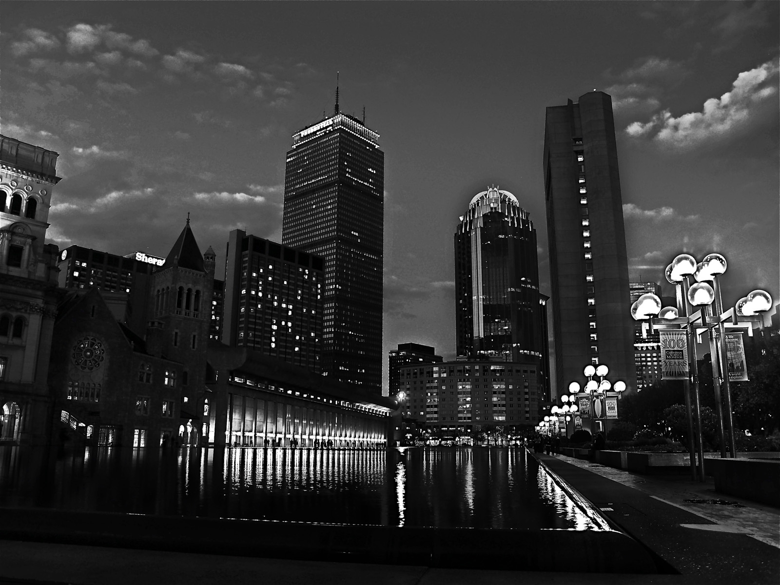 10 Latest Boston Skyline Wallpaper Black And White FULL HD 1920×1080 For PC Desktop