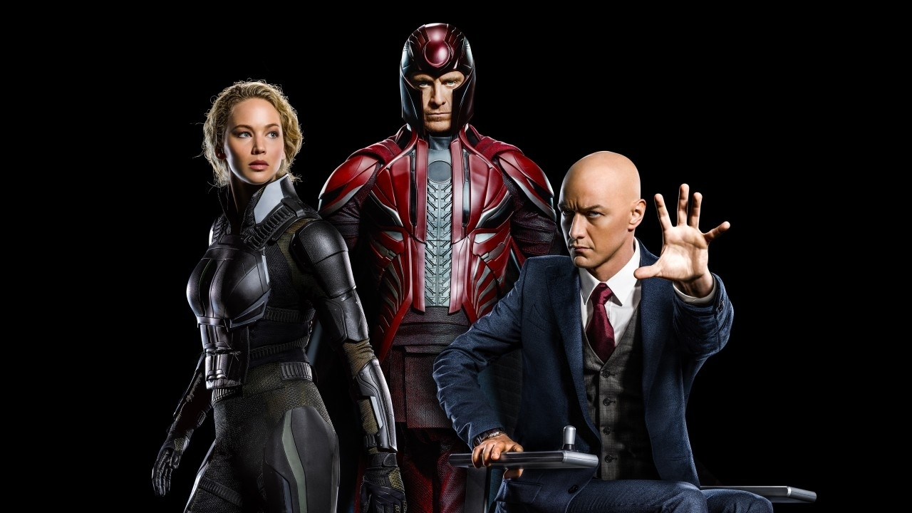 wallpaper x-men, apocalypse, raven, mystique, magneto, professor