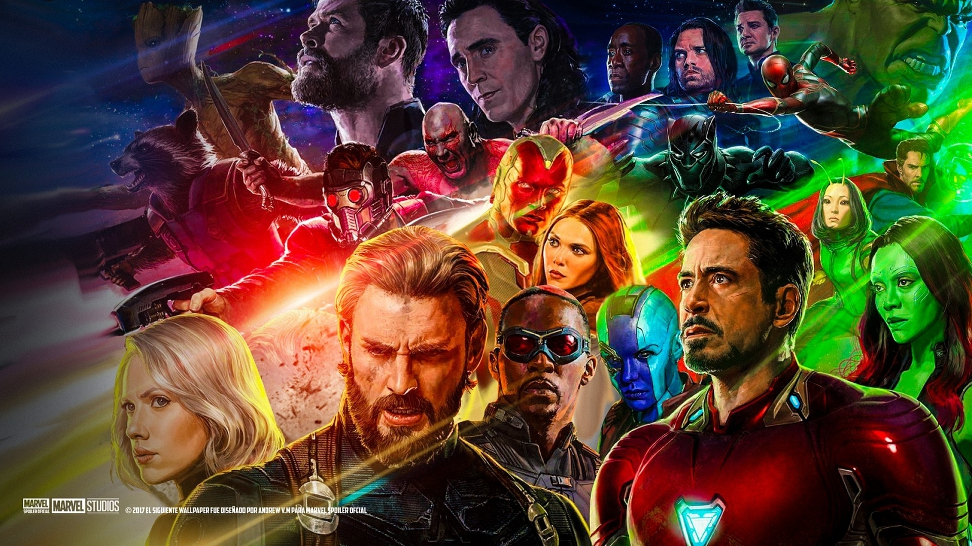 wallpapers avengers infinity war - 2018 cute screensavers