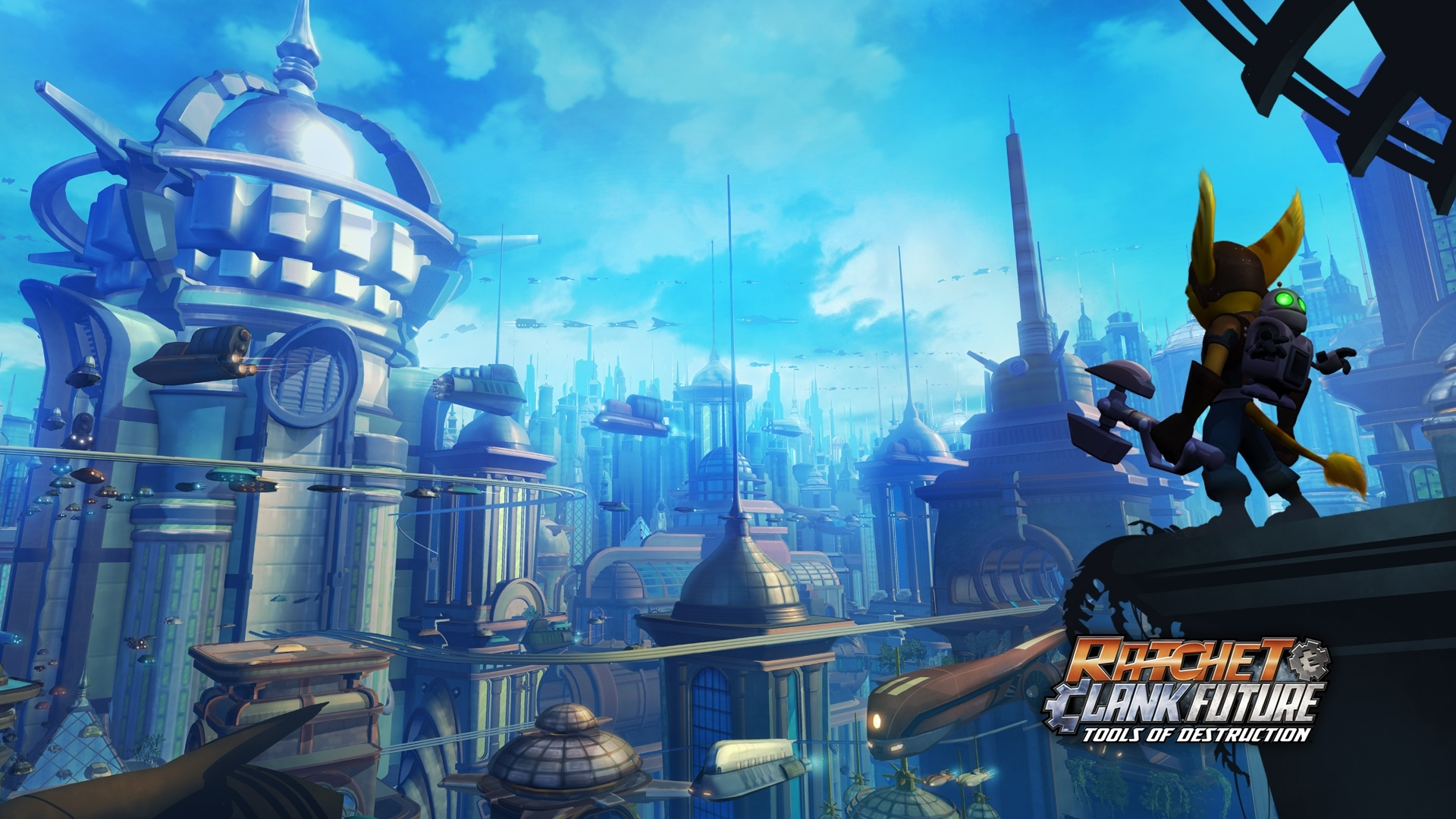 wallpapers - ratchet & clank : opération destruction - ps3 - ratchet