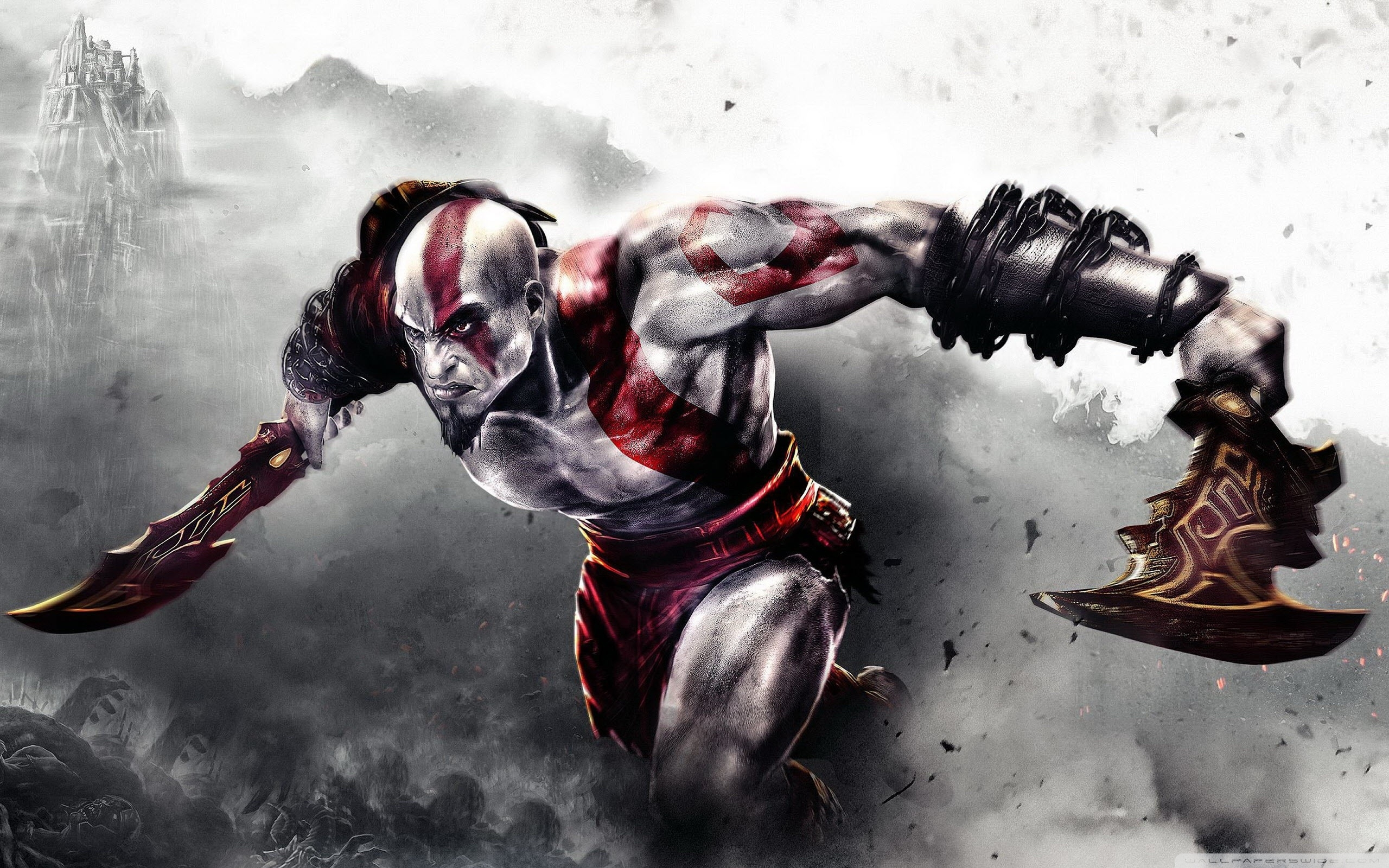 wallpaperswide ❤ god of war hd desktop wallpapers for 4k ultra