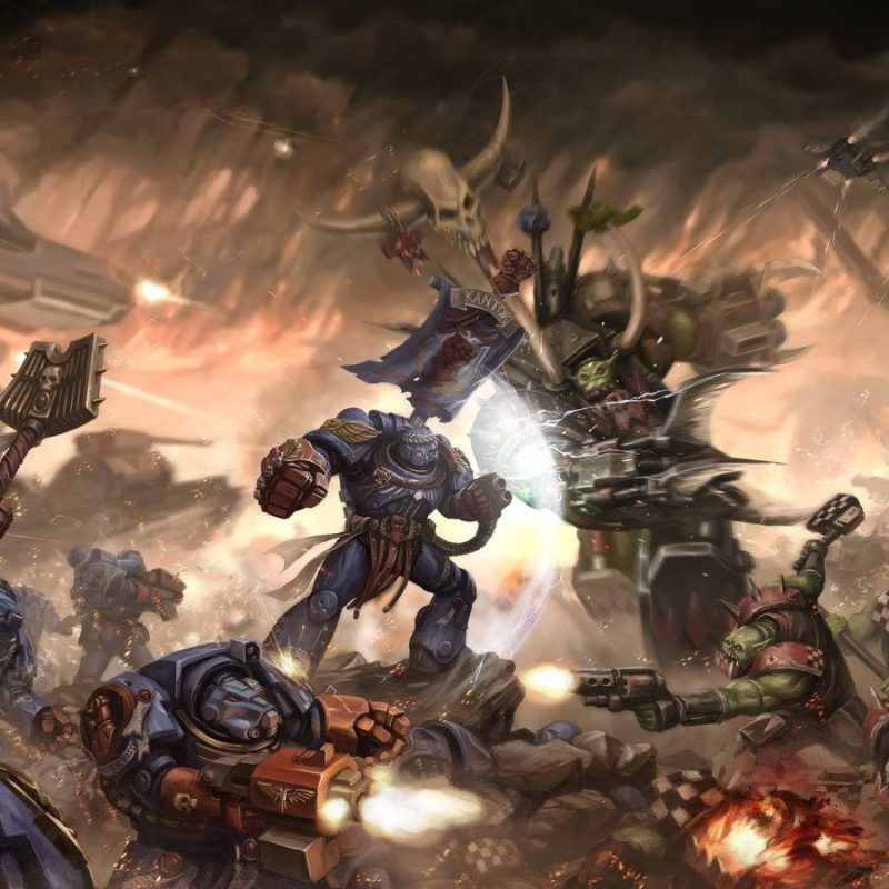 10 Best Warhammer 40K Orks Wallpaper FULL HD 1920×1080 For PC Desktop 2018 free download warhammer 40k patrick doublethreat magee 800x800
