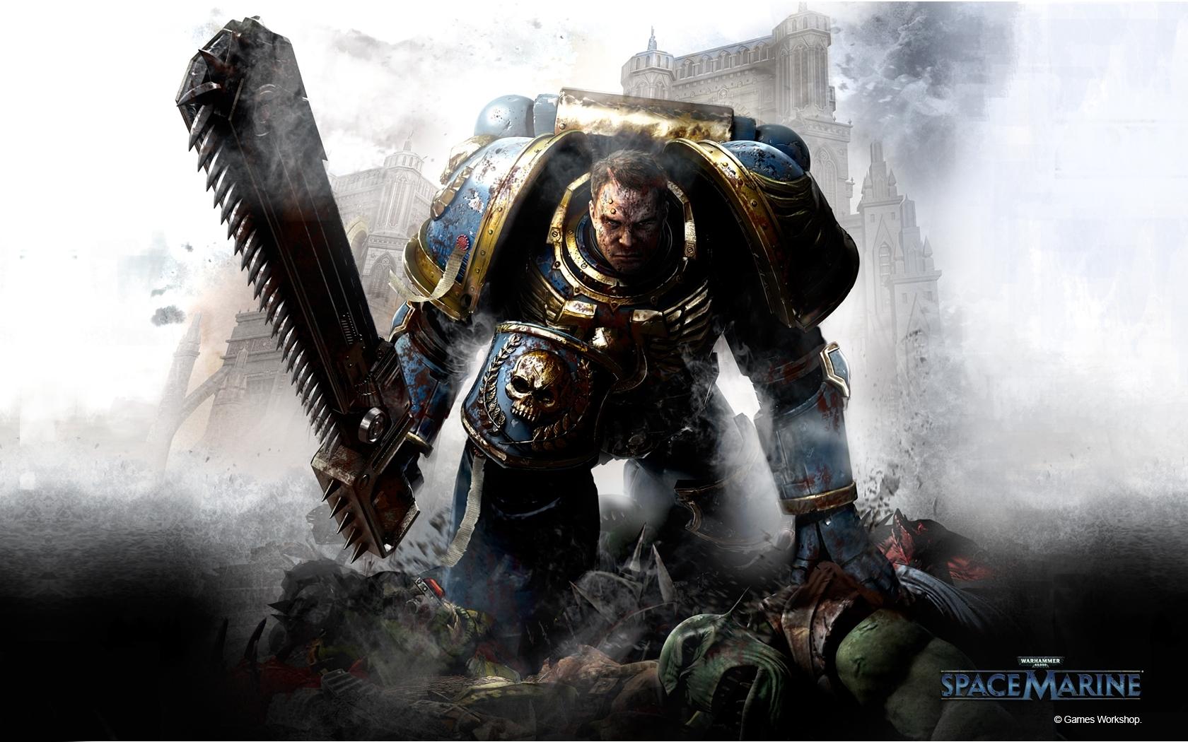 warhammer 40k space marine wallpaper #4407 wallpaper | game