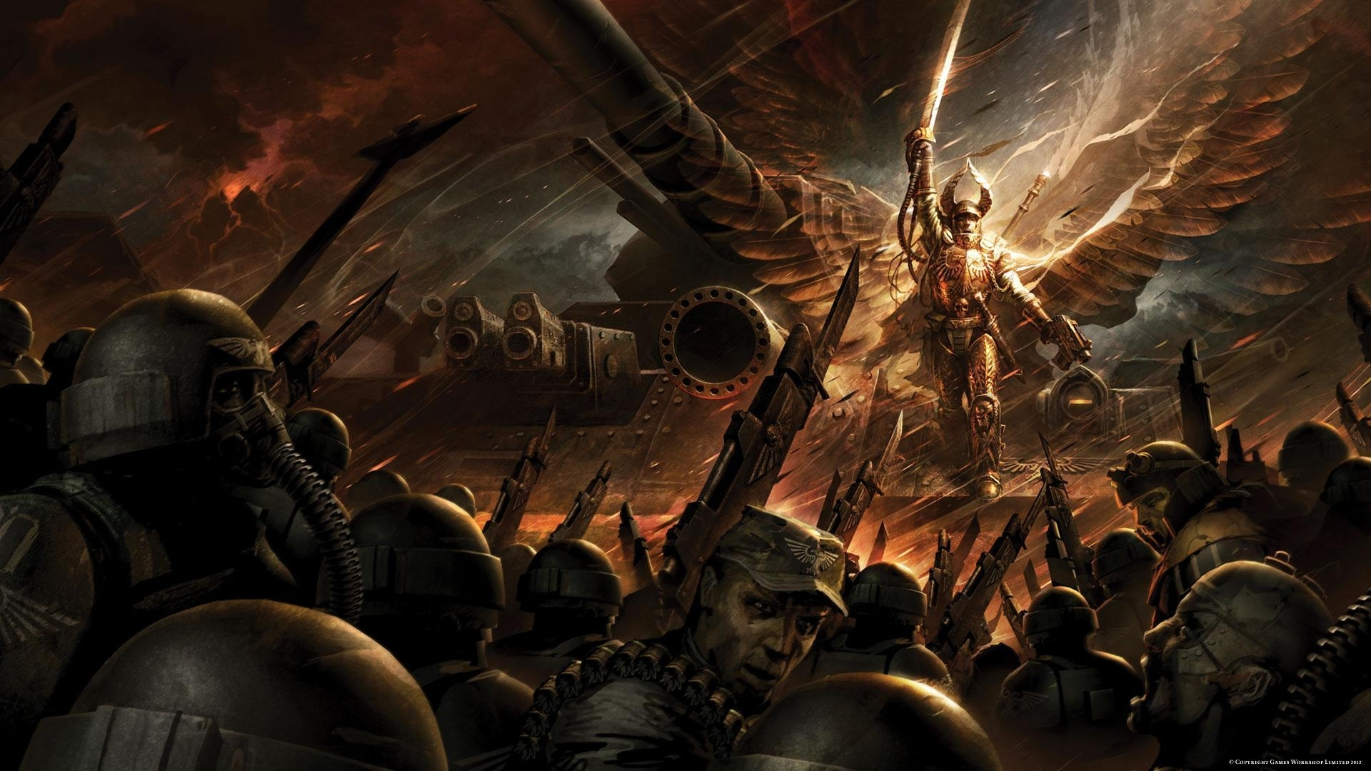 10 Best Warhammer 40K Wallpapers 1920X1080 FULL HD 1080p For PC Background