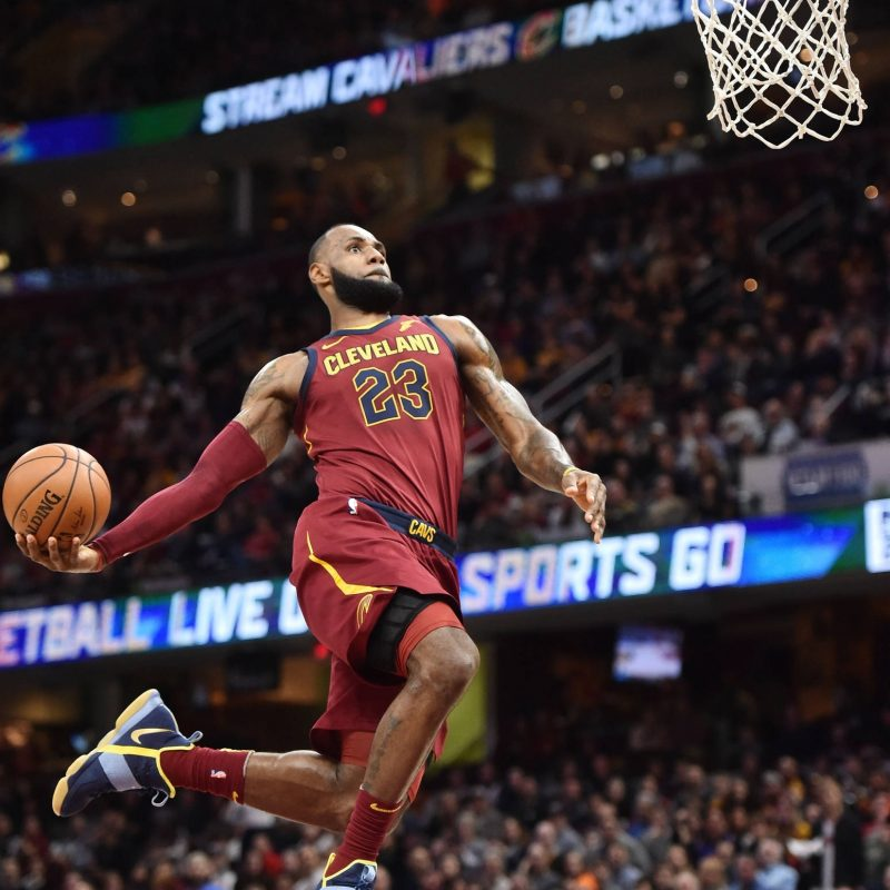 10 Most Popular Lebron James Dunking Images FULL HD 1920×1080 For PC Desktop 2018 free download watch lebron james misses wide open windmill dunk yardbarker 2 800x800