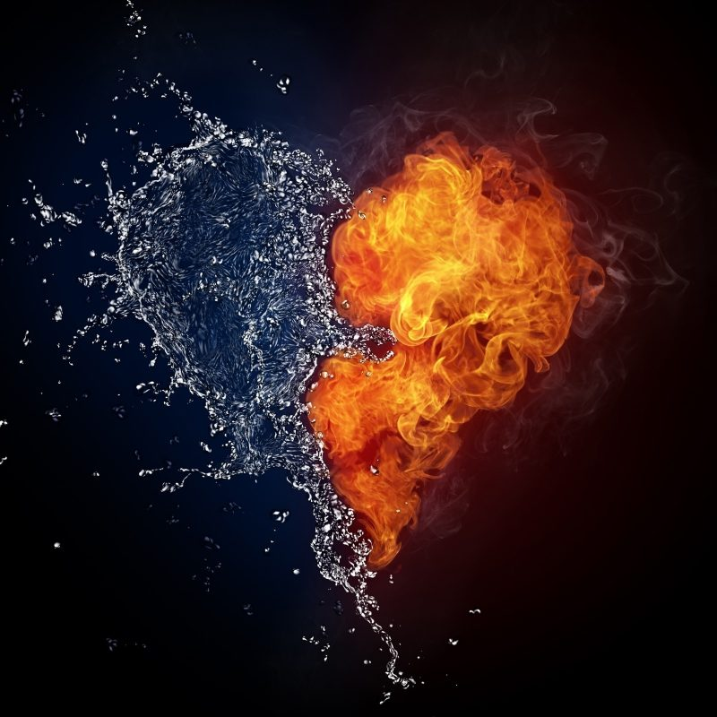 10 Latest Fire And Water Abstract Wallpaper FULL HD 1920×1080 For PC Desktop 2018 free download water abstract fire hearts photo manipulations 1998 wallpapers and 800x800
