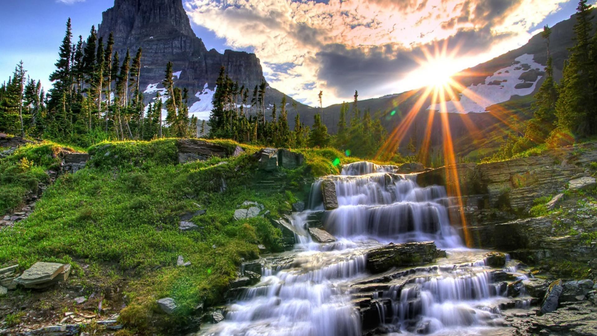 waterfalls-nature-hd-wallpaper - wallpaper.wiki
