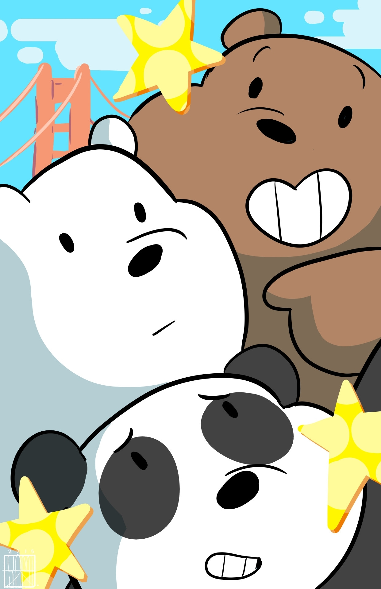 we bare bears wallpaper (94+ images)