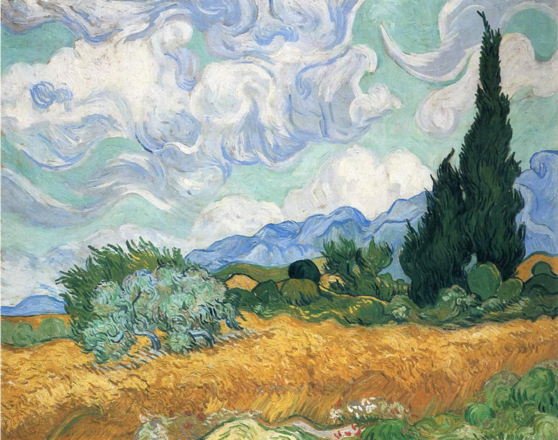 10 Latest Van Gogh Desktop Background FULL HD 1080p For PC Background 2018 free download wheatfield with cypress vincent van gogh wallpaper image 800x631