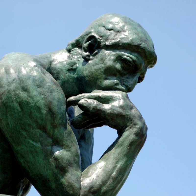10 Latest Images Of The Thinker FULL HD 1080p For PC Desktop 2018 free download wherever theres a thought theres a thinker the negative psychologist 800x800