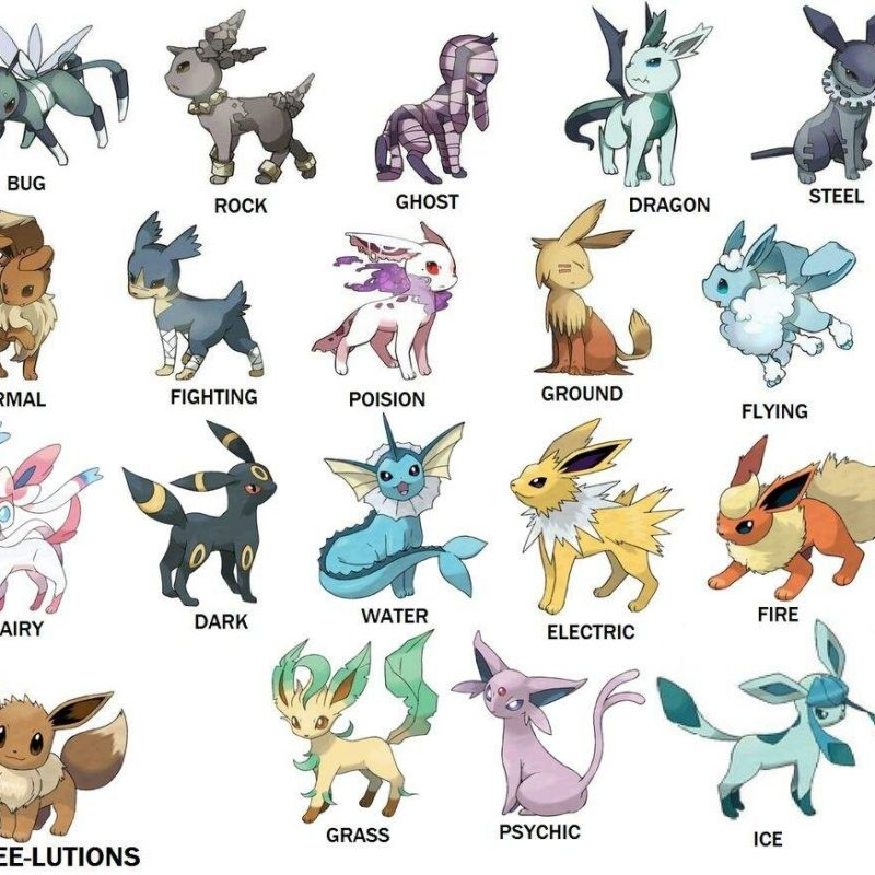 10 Best Pictures Of Eevee Evolutions FULL HD 1080p For PC Background 2018 free download which is your favorite eevee evolution pokemon go amino 800x800