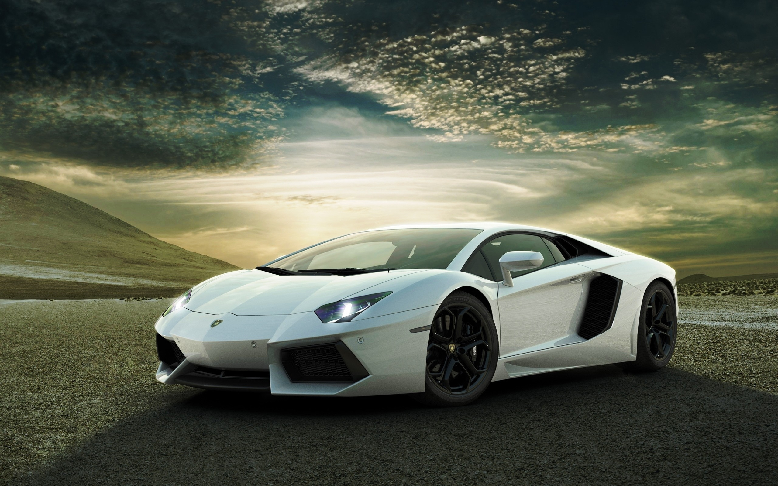 white lamborghini aventador wallpapers | hd wallpapers | id #9722