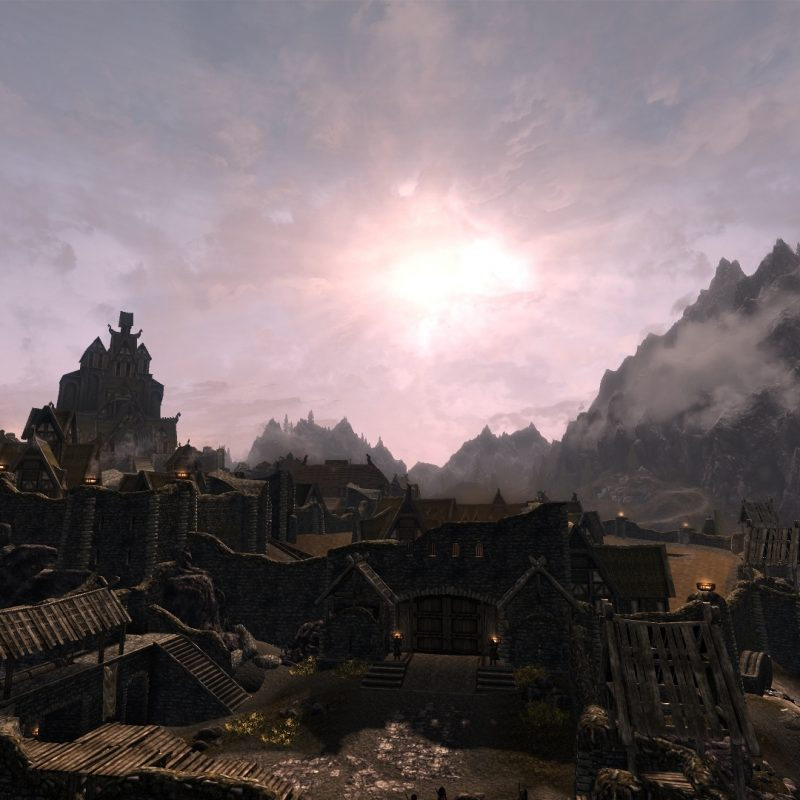 10 Best Dual Monitor Wallpaper Skyrim FULL HD 1080p For PC Background 2018 free download whiterun full hd wallpaper for dual monitor setup at skyrim nexus 800x800