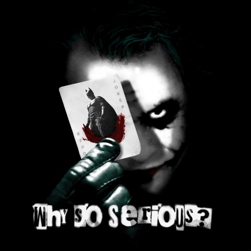 10 New Why So Serious Wallpaper FULL HD 1080p For PC Desktop 2020 free download why so serious wallpapers 800x800