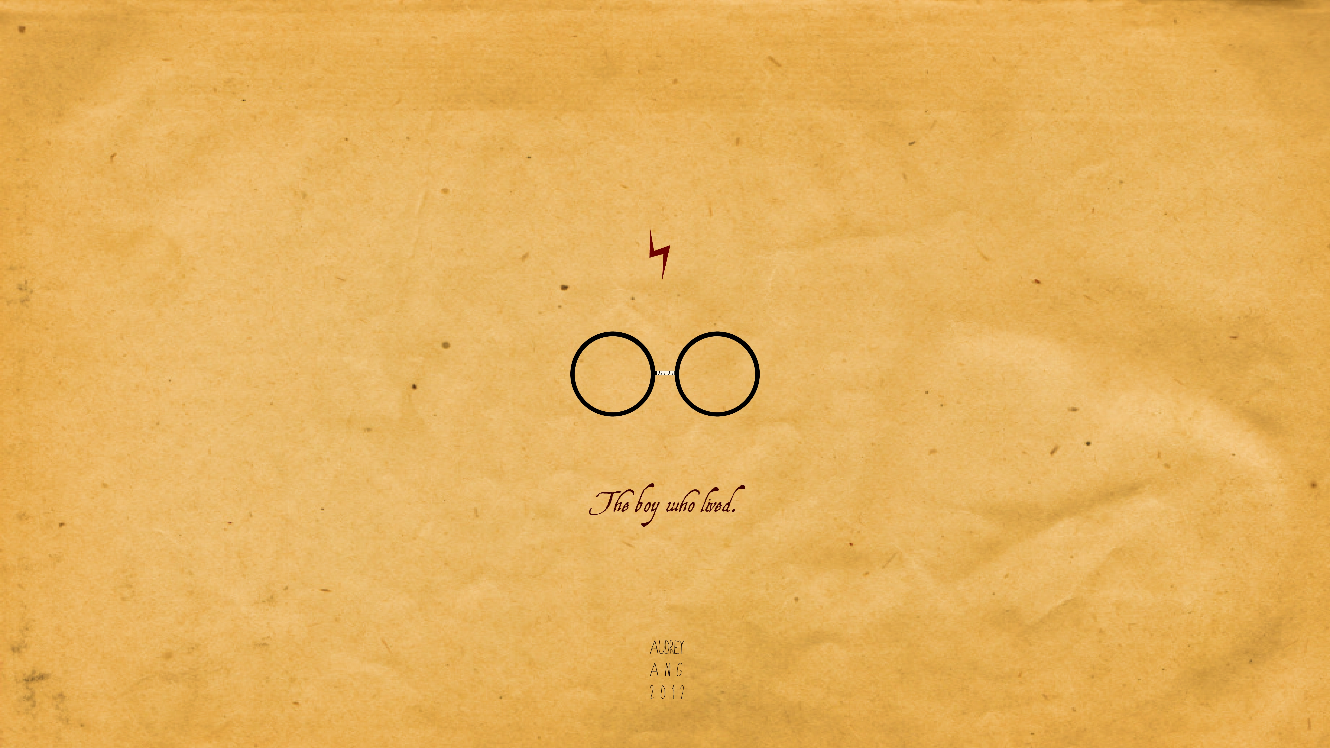widescreen harry potter quote afari with background high resolution