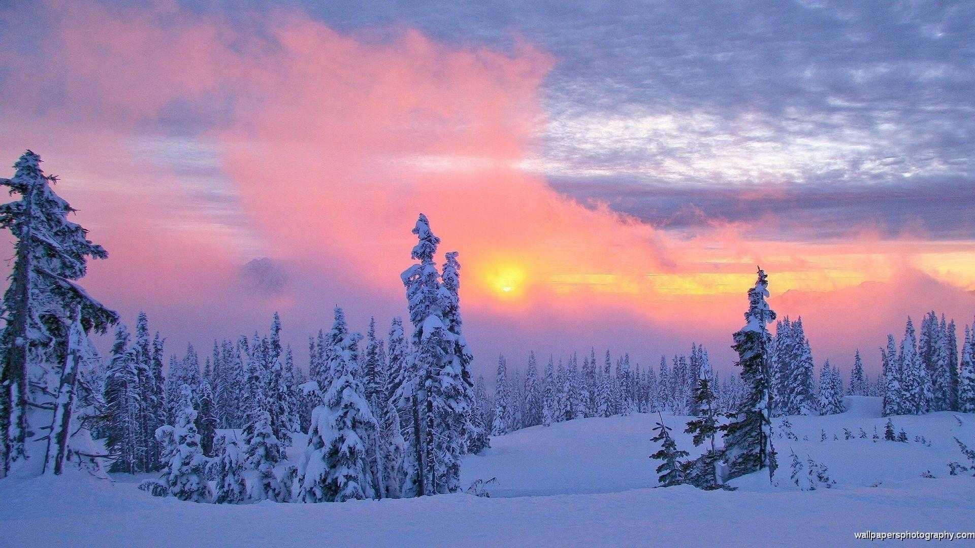 10 Best Winter Scenes For Desktop FULL HD 1080p For PC Background
