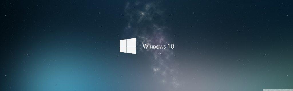 10 Latest Windows 10 Two Monitors Wallpaper FULL HD 1080p For PC Background 2020 free download windows 10 e29da4 4k hd desktop wallpaper for e280a2 wide ultra 1024x320