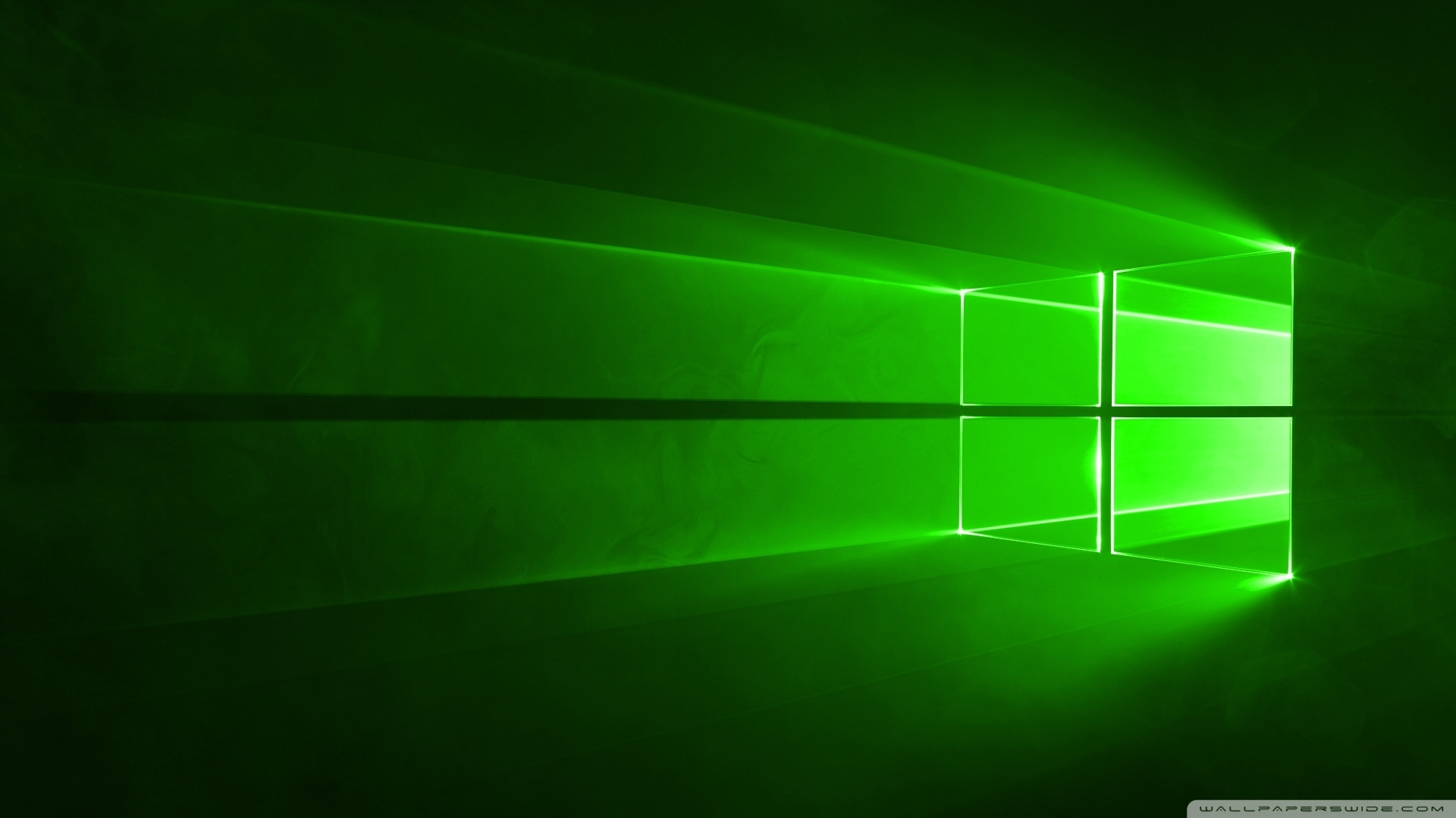 windows 10 green ❤ 4k hd desktop wallpaper for • wide & ultra