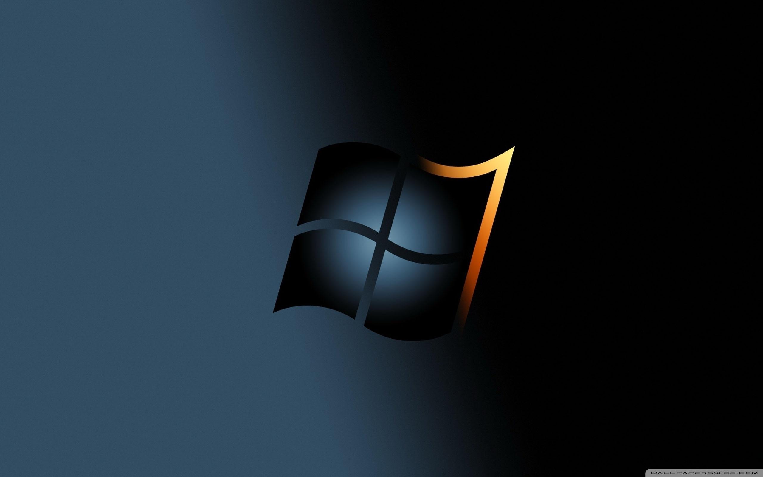 windows 7 dark ❤ 4k hd desktop wallpaper for 4k ultra hd tv • dual