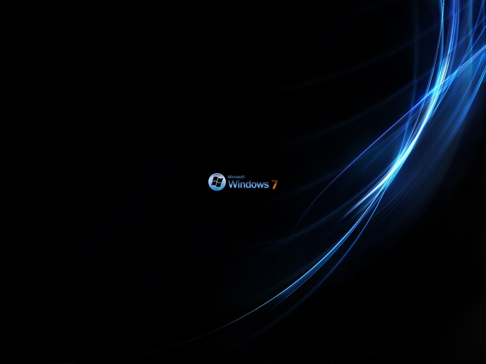 windows 7 rich black wallpapers | hd wallpapers | id #7149