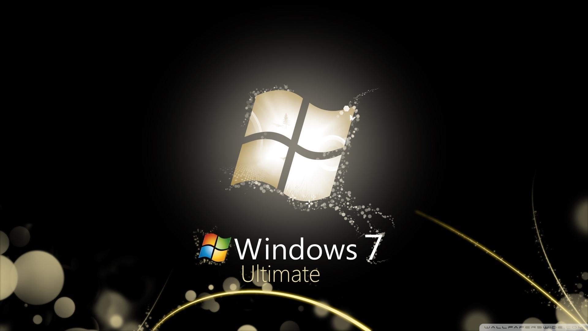 windows 7 ultimate bright black ❤ 4k hd desktop wallpaper for 4k