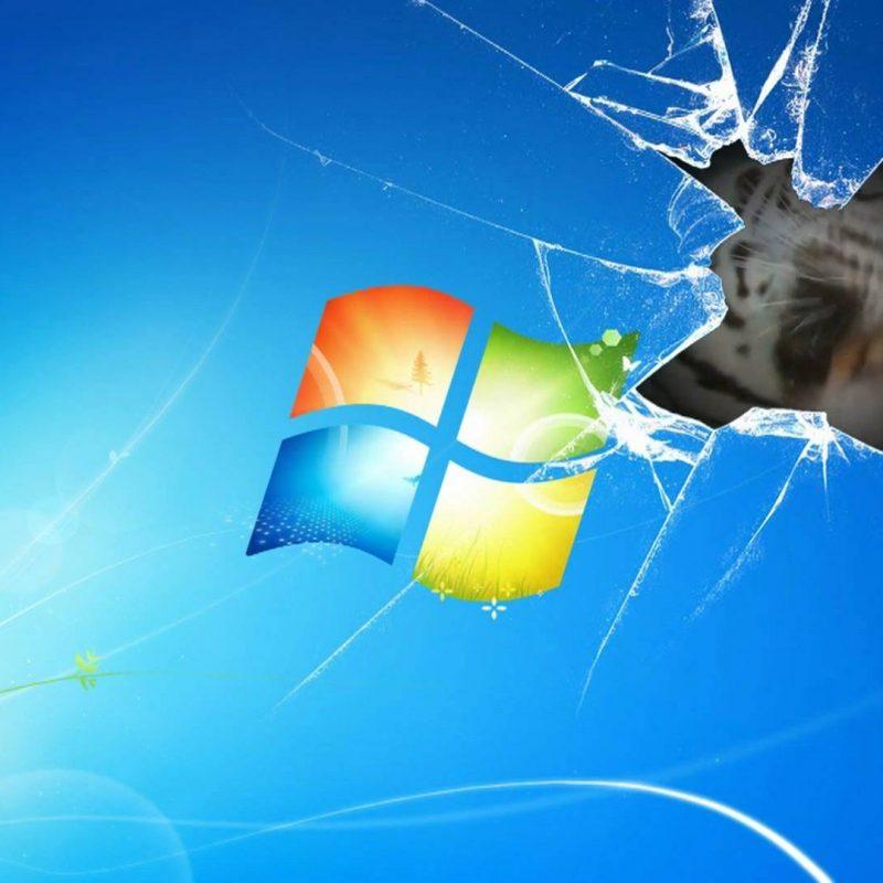 10 New Windows 7 Broken Screen Wallpaper FULL HD 1920×1080 For PC Background 2018 free download windows 7 wallpaper animated tiger on broken screen youtube 800x800