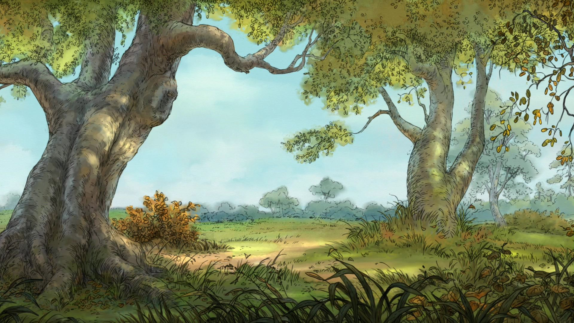 winnie-the-pooh wallpapers | desktop wallpapers - page 2 | baby room