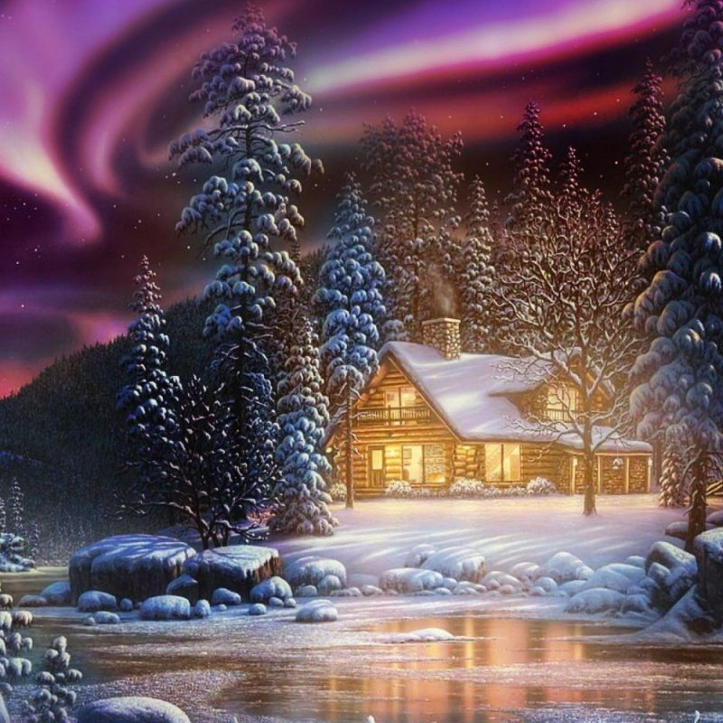 10 Latest Winter Northern Lights Wallpaper FULL HD 1080p For PC Desktop 2018 free download winter cabin and the northern lights walldevil 800x800